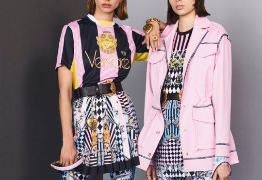 مدل لباس زنانه پاییزه Versace
