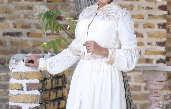 مدل مانتو عروس Papeli Mezon