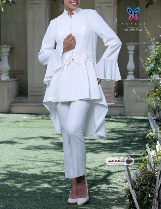 مدل مانتو عروس