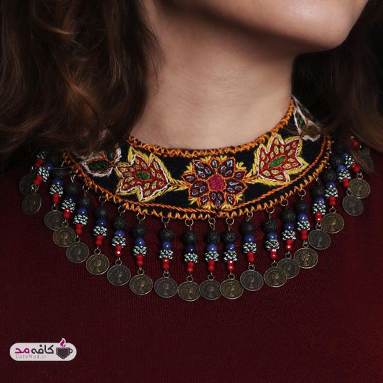 مدل زیورآلات ایرانی سوزن دوزی
