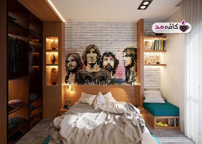 دکوراسیون اتاق خواب نوجوان و جوان