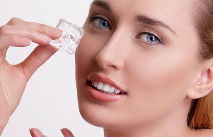 معجزه یخ برای زیبایی پوست