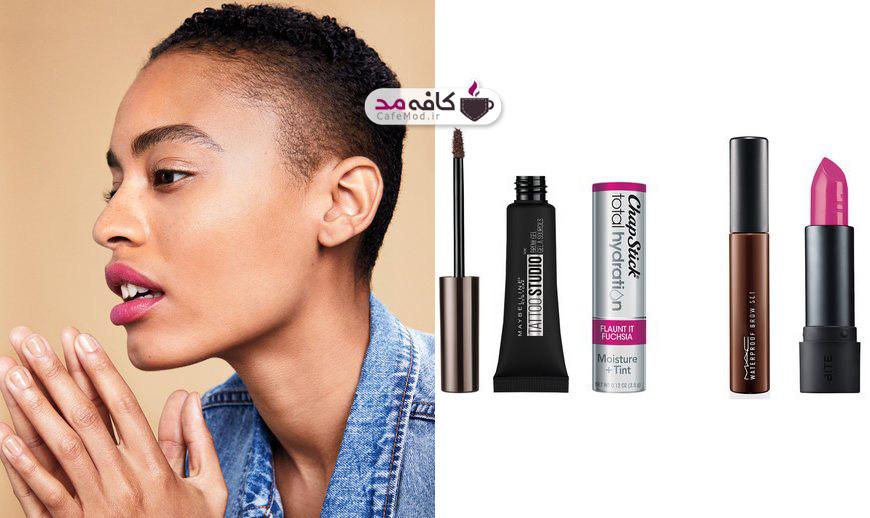 مدل آرایش ساده در کمترین زمان
