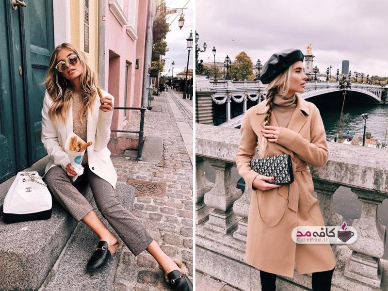 مدل استایل زنان فرانسوی
