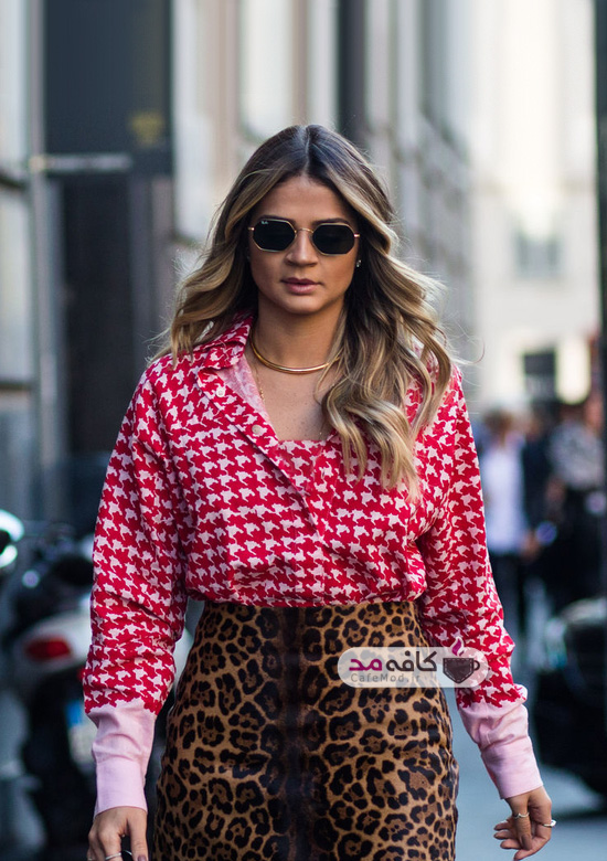 لباسهای پلنگی زنانه را به این روش بپوشید