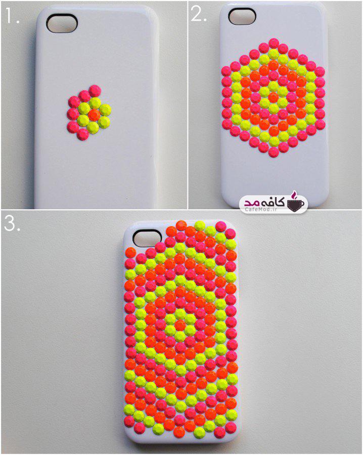 ایده طراحی قاب گوشی ساده