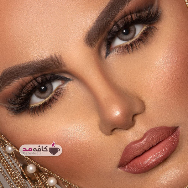 مدل آرایش مجلسی شب