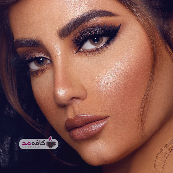 مدل آرایش عربی خلیجی