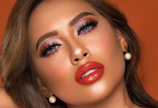 مدل آرایش برای رنگ پوست برنزه