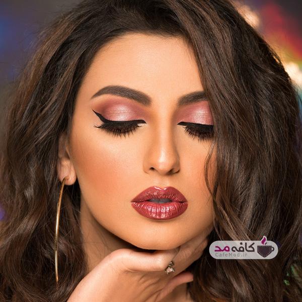 مدل آرایش غلیظ عربی