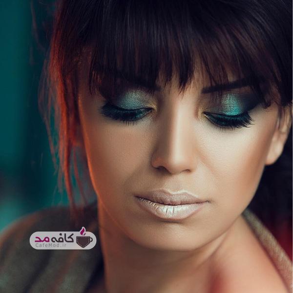 مدل آرایش هنرمندانه