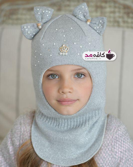 مدل کلاه بافت دخترانه