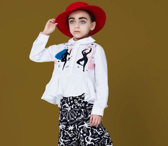 مدل لباس بچگانه Raspberry Plum