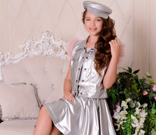 مدل لباس دخترانه مجلسی EVELINA