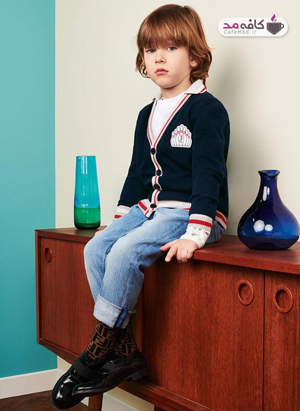 مدل لباس کودک Fendi