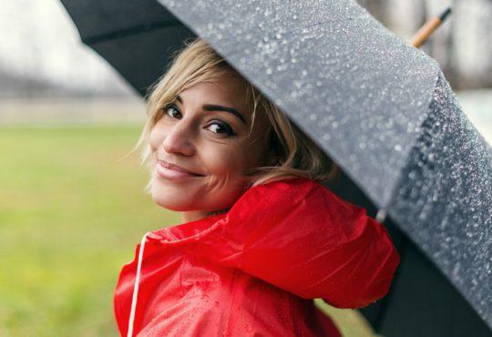 آرایش مخصوص روزهای بارانی