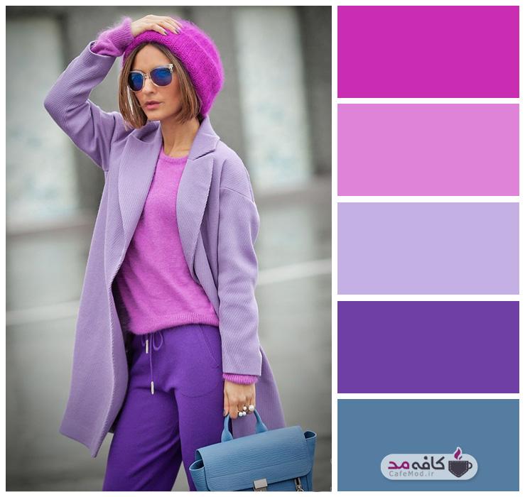 جذابترین ترکیب رنگی لباس برای خانمها در پاییز