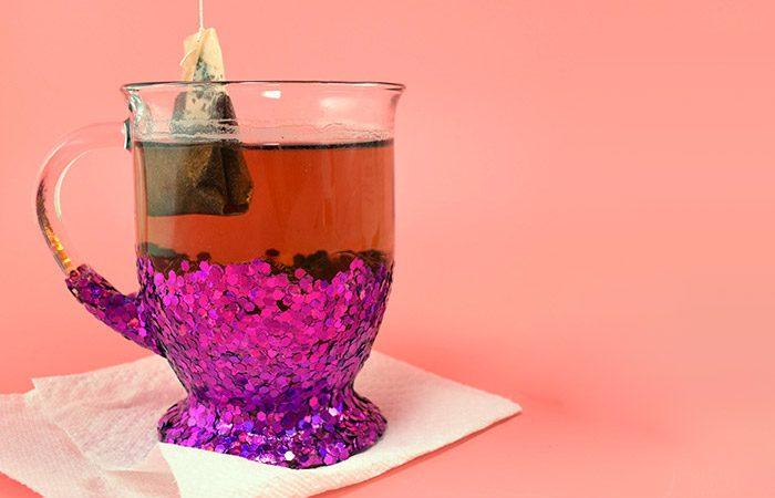 تغییر ظاهر لیوان چای