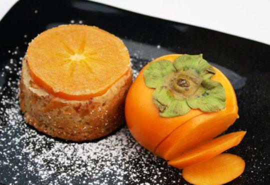 طرز تهیه مینی کیک خرمالو
