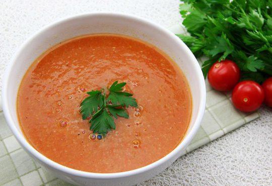 طرز تهیه سوپ سم زدای سیر و زنجبیل