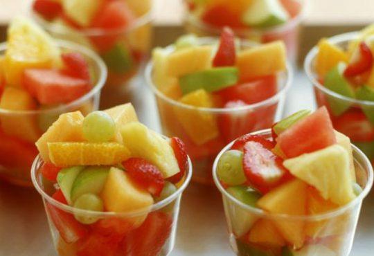 طرز تهیه سالاد میوه های زمستانی