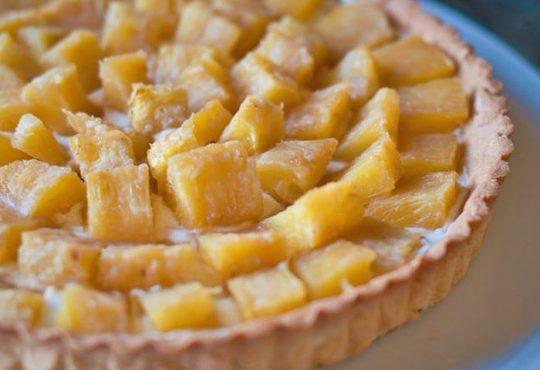 طرز تهیه تارت آناناس