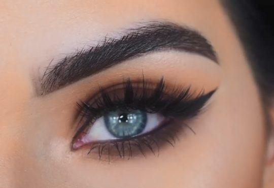 فیلم آموزش آرایش چشم روزانه دودی