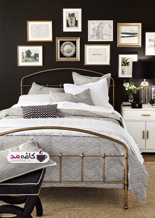 مدل اتاق خواب مشکی