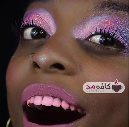 دندانهای رنگی مد میشود!