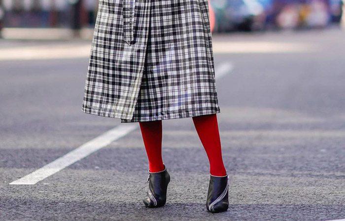 جوراب شلواری در استایل زنانه