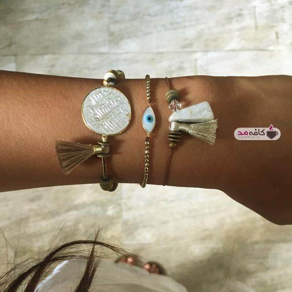 مدل دستبند دستساز طلا