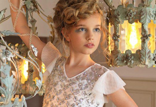 مدل لباس مجلسی دخترانه Roco