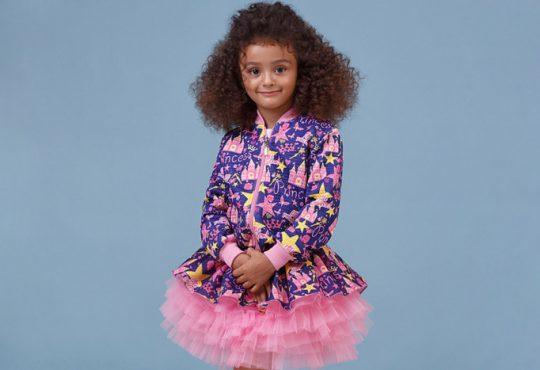 مدل لباس بچگانه دخترانه برند Zironka