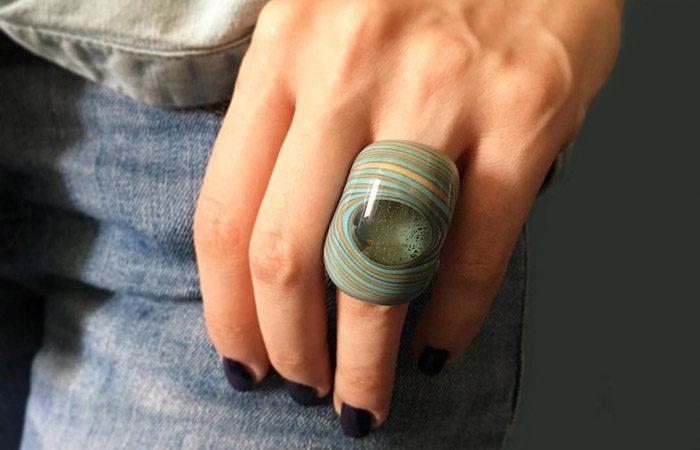 مدل زیورآلات شیشه ای Murano Glass