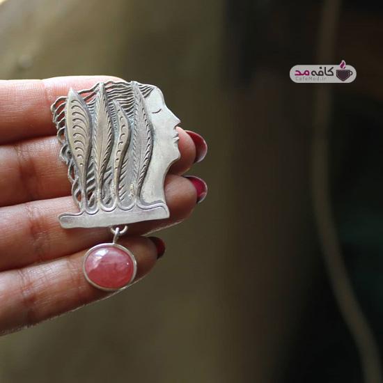مدل زیورآلات دستساز نقره و سنگ