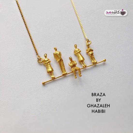 مدل زیورآلات دستساز ایرانی