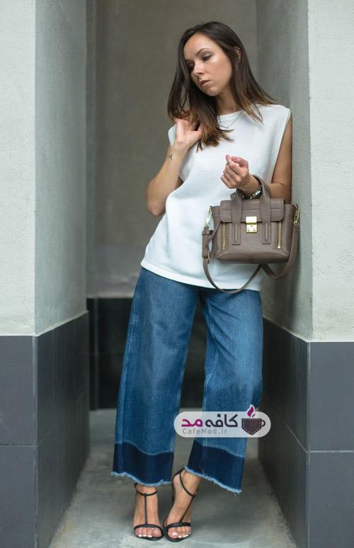 شلوار جین مناسب تیپ های بدنی