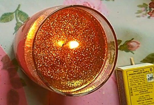 فیلم درست کردن شمع آبی بدون پارافن