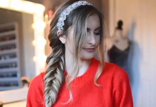 فیلم آموزش بافت موی دخترانه تولدی