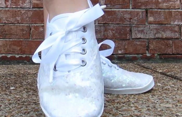 فیلم تغییر کفش سفید عروس