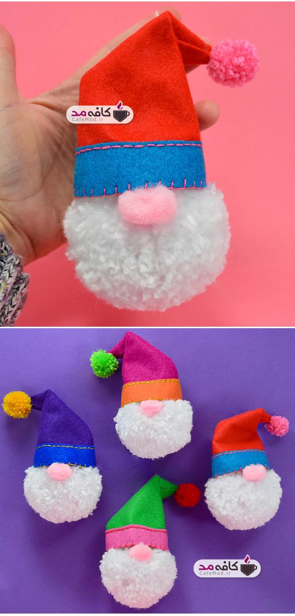 آموزش عروسک کریسمسی