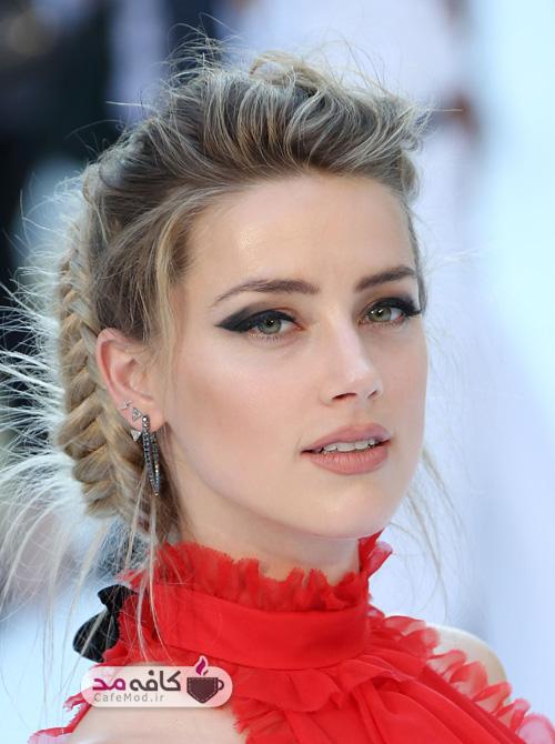آرایش مناسب با لباس قرمز