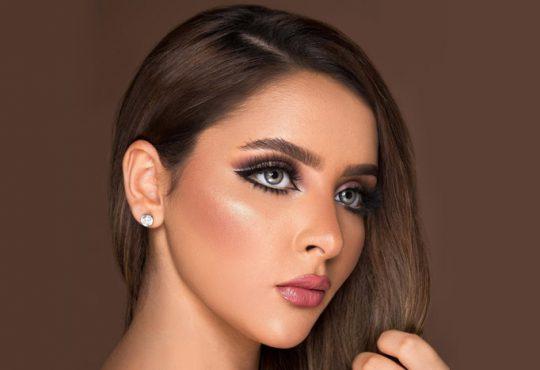 مدل آرایش صورت به سبک عربی