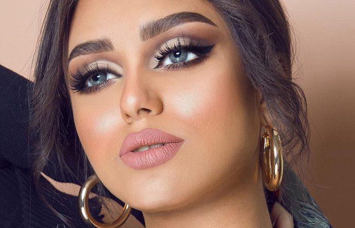 مدل آرایش صورت از Enas Mansoor