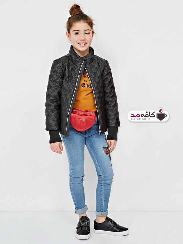 مدل لباس بچگانه مارک Guess