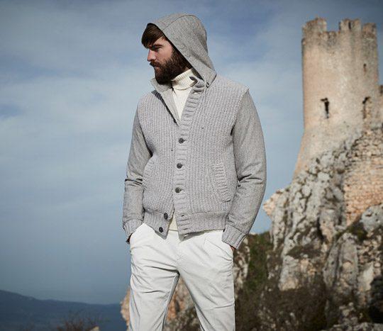 مدل لباس پاییز و زمستان مردانه Gransasso