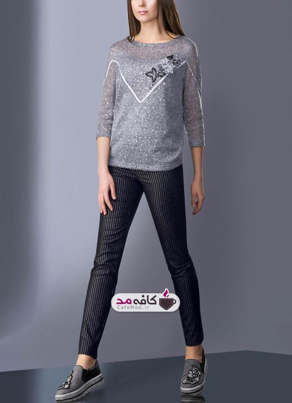 مدل لباس مجلسی مناسب فصل سرما