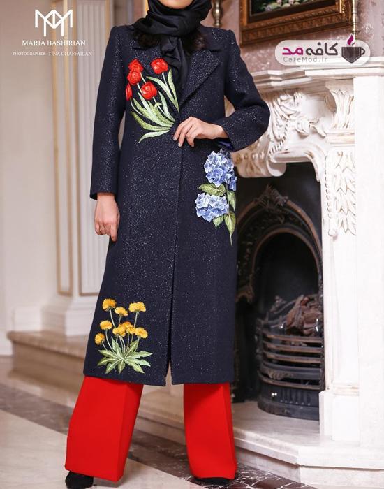 مدل مانتو ایرانی Maria Bashirian