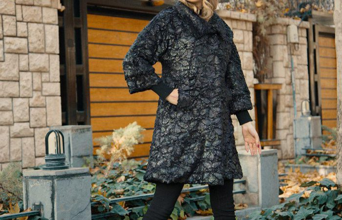 مدل پالتو زمستانه برند ایرانی Rangine