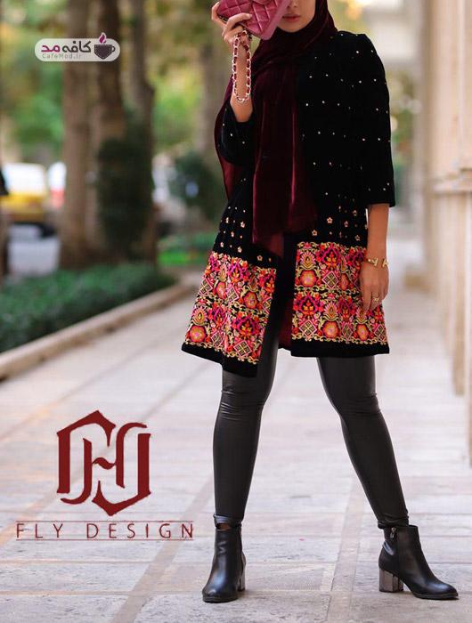 جدیدترین مانتوهای زمستانه ایرانی